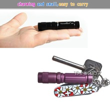 Mini Everyday Carry flashlight waterproof led torch gift lights led keychain flashlight