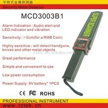 Security Hand Held Metal Detector MCD3003B1