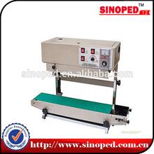 continuous heat sealer for plastic bag , PP film