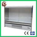 Supermercado exibição refrigerador refrigerador de exibição vertical bebida chiller