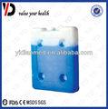 Não- tóxico caixa plástica de gelo para peixes/frutas/transporte de sorvete
