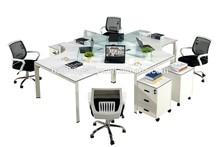 elegant design top quality factory direct steel-wood office desk