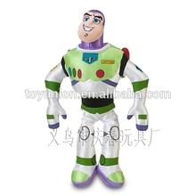 Alta calidad de encargo Buzz Lightyear juguete de plástico