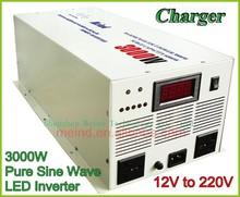 DC-AC power inverter/pure sine wave 12v 220v 3000w inverters