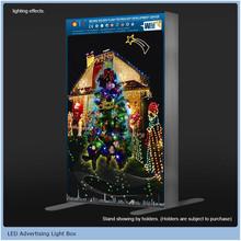 led diy poster lightbox display