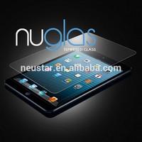 Anti-shock 9h hardness tempered glass screen protector for iPad Mini 3