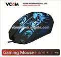 2015 de diseño de moda usb óptico de juego del ratón del ordenador portátil con precio de fábrica
