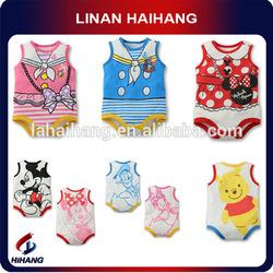 OEM design cartoon cotton baby newborn clothing
