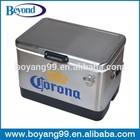 corona beer metal cooler