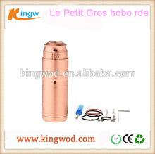 Hottest Hobo RDA LPG 18350 Mechanical Mod Le Petit Gros HOBO kit designer hobo purses in factory price