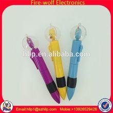 Best Sell Customized Logo Promotional led light up ball pen