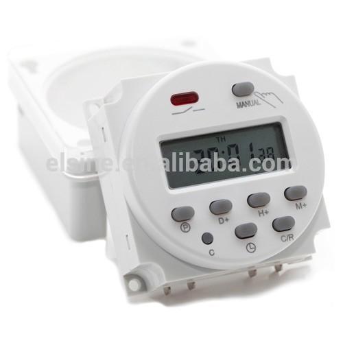 12v wöchentlich programmierbarer elektronischer timer( THC- 101a, cn101a)