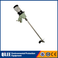 liquid industrial stainless water treatment portable agitator