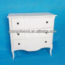 European style New Zebra Design Wooden Cabinet