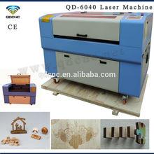 company portable small paper laser cutting machine QD-6040