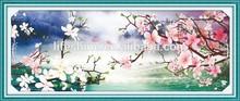 """Light & Flower Flowing "" New 5D round crystal diy diamond painting"