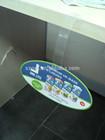 plastic shelf wobbler,retail advertisement dangler