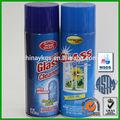 400ml d'eau.- base aerosol spray nettoyant lunettes avec de l'ammoniac sans cfc