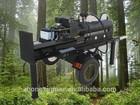 Screw Log Splitter 32T Tree Cutting Equipment for Sale