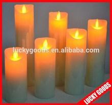 hot sale popular decoration led moving flame candle
