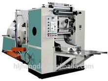 1 color Drawer tissue making machine printing machine box type tissue paper CE V fold