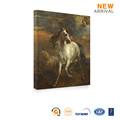 venda quente personalizado da suspensão de parede sem moldura fotos do cavalo