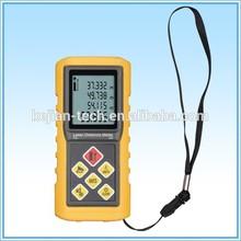 Digital Handled Laser Range Finder/ Distance Measurer/ Length, Area, Volume, Width, Clearance, Tilt Sensor