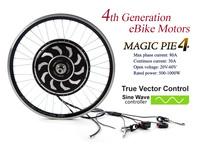 New!Programmable! Magic Pie 4 / Smart pie 4 e-bike conversion kit 24/36/48V hub motor with sine wave controller