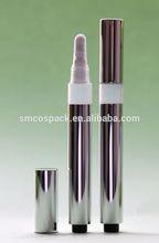 3.0ml anodized aluminum plastic silicone tip cosmetic pen