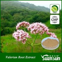Factory supply 100% natural medicine & food grade Natura Valerian Root Extract