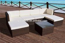 Rattan Modular Corner Sofa Set Garden Conservatory Furniture L Shape Outdoor
