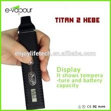 Newest high quanlity Dry Herb Titan 2 vapor pen ,adjustable temperature Dry Herb Titan 1/Titan 2