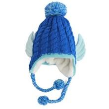 NZM46 Korean winter children's hat new baby ear cap