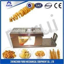 Hot sale potato fries cutter/tornado potato cutter for popular snacks