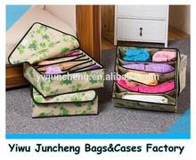 Fashion Trends Sock Holder/Folding Storage Box Set/Non-woven organizer