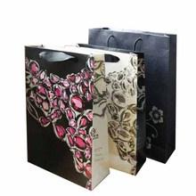 luxury reusable folding Jewelry shopping bag