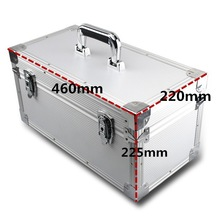 Lightweight flight case with tool panel+wave foam+dividers