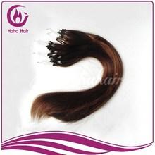 "12""-32"" 6A Remy Hair Micro ring loop Natural hair Extensions"