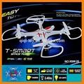 Rc Drone juguetes! 2.4 G 4CH RC Quadcopter juguete juguete del helicóptero teledirigido con la cámara, Rc Quadcopter con HD de la cámara de juguete