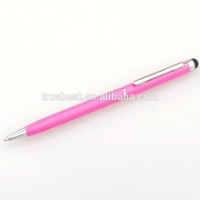 office and school use digital touch stylus metal ball pen for promotional