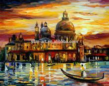 impressionist venice oil painting