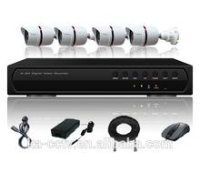 4CH POE CCTV System H.264 NVR ,4 HD 720P IP Surveillance Network Camera 1TB HDD, 4ch nvr kit