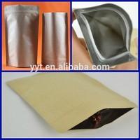 customized 350g brown sugar packaging bag/sugar stand up bag