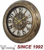 Old Fashion Antique Brass Clock