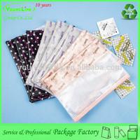 PVC mesh beauteous printing different size plastic document bag with zipper lock
