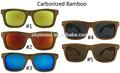 Gafas de lujo, Moderna marcos de los vidrios, De bambú gafas de sol wayfarer de venta al por mayor