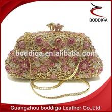 First Glade elegant luxury blink crystal clutch bag 100% handcrafted #0801