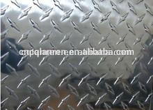 price per ton 4 feet width 8 feet length big five bars aluminium tread plate