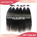 pente de ferro de cabelo liso brasileiro apertado cacheados trama extensão do cabelo