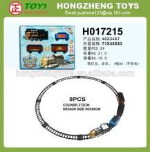 Slot track car, B/O simulation Rail train toy, Toy car track plastic H017215